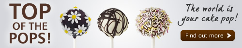Pop scene. The world is your cake pop! Find out more