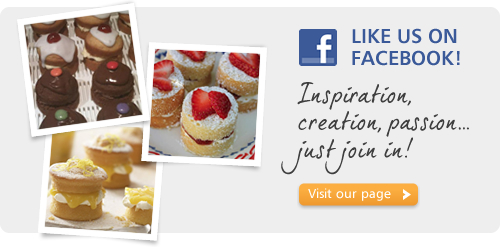 Like us on Facebook. Inspiration, creation, passion... just join in! Visit our page