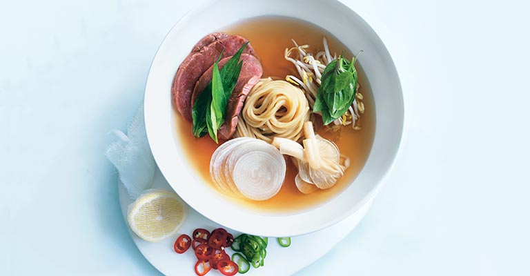 Simple beef noodle soup
