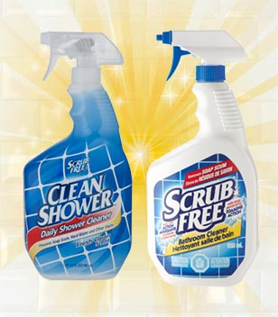 Clean Shower® and Scrub Free®