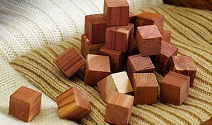 Cedar Wood Blocks