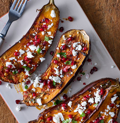 SPICED CRUSTED AUBERGINE