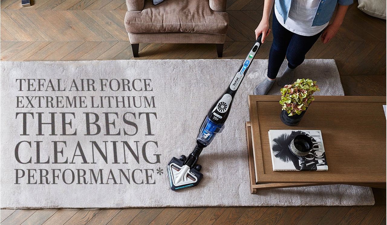 Tefal Air Force Extreme Lithium Cordless Vacuum Ty8865ho