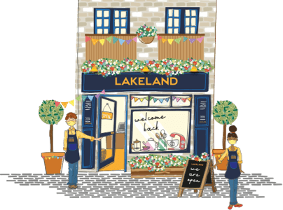 lakeland stores are re-opening
