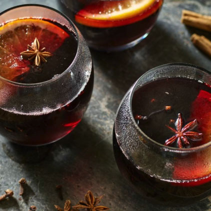 Slow-Cooker Festive Mulled Wine