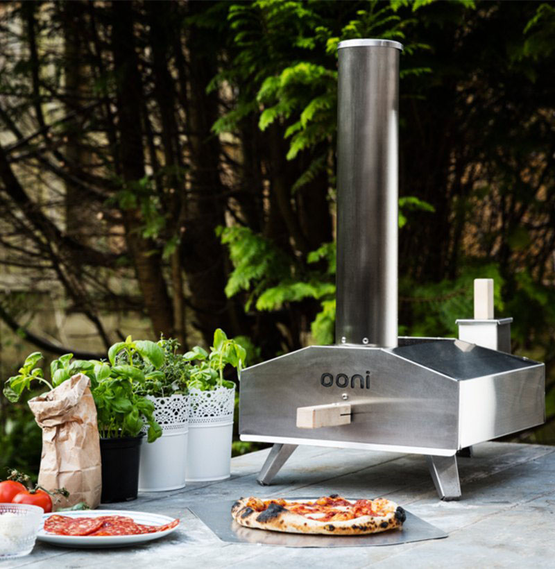 Ooni 3 Outdoor Pizza Oven Baking Stone Peel Lakeland