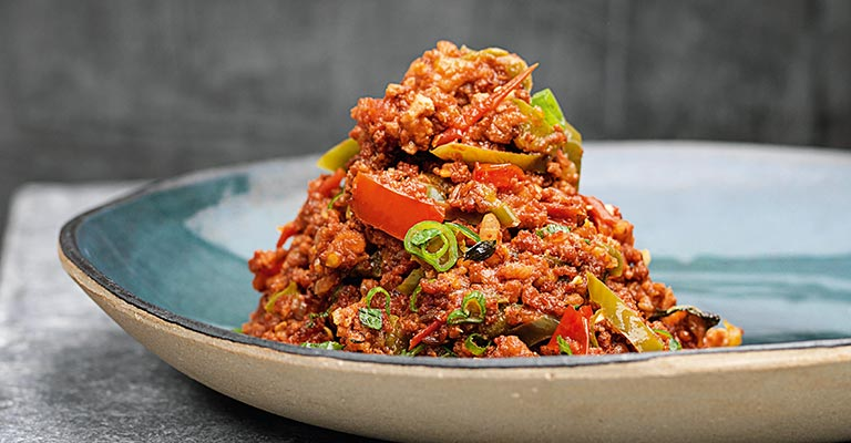 Green Chilli Con Carne